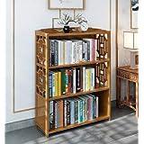 Bamboo Antique Style Cabinet Book Shelf Storage Choice Fantastic
