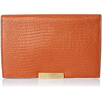 Oroton Women's Cruise Large Wallet, Cognac, One Size