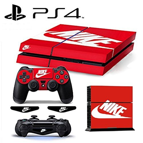 PS4 ShoeBox #2 Nike Logo Shoe Box Whole Body VINYL SKIN STICKER DECAL COVER for PS4 Playstation 4 System Console and Controllers by Ci-Yu-Online 並行輸入品