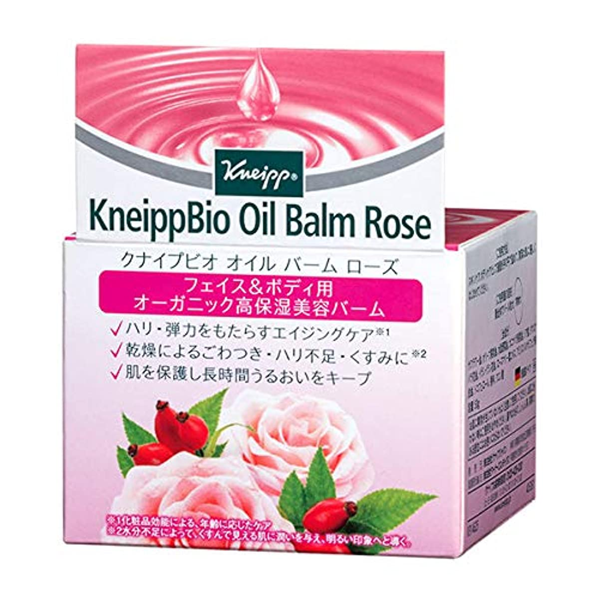 アレイさておきクラックポットクナイプ(Kneipp) クナイプビオ オイル バーム ローズ 50g 美容液