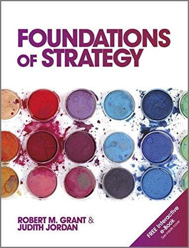 Download Foundations of Strategy 0470971274