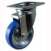 ナンシン 産業用キャスター 自在φ100ウレタン車輪(ベアリング入り) STM-100 VU