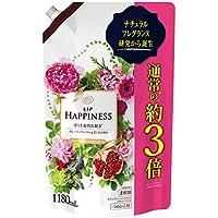 レノア ハピネス 柔軟剤 ナチュラルフレグランスシリーズ フローラル&ざくろの香り 詰め替え 1180mL
