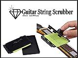 【The String Scrubber】簡単ストリング クリーナー 指板汚れも クリーニング 弦を挟んで弦と指板を同時クリーニング ギター/ベース弦楽器対応 ギターメンテナンス用品 【タグ shop bluesky】