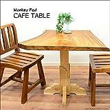 MANJA FUR-0399-B 送料無料 アジアン家具 モンキーポッド チーク カフェテーブル H74.5cm(塗装代込)