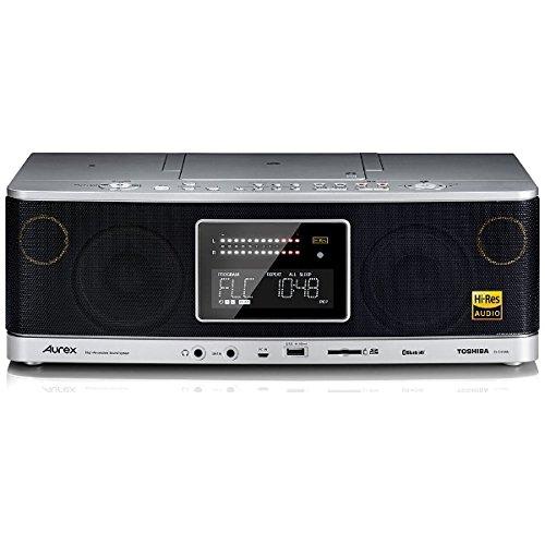 東芝 ハイレゾ・Bluetooth機能搭載CD_SD_USB対応ラジオ(シルバー)TOSHIBA TY-AH1000