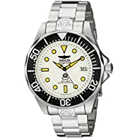 Invicta Men's INVICTA-10640 Pro Diver Analog Display Japanese Automatic Silver Watch