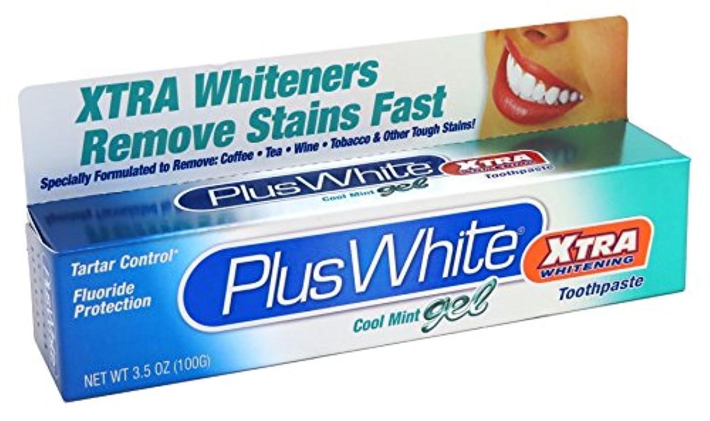 メジャー自治的偽強力ホワイトニング歯磨きミントジェル 104ml (並行輸入品)