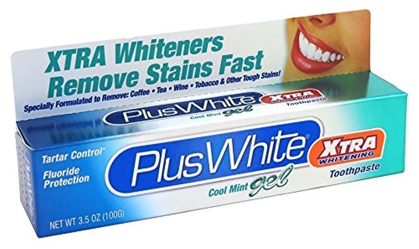 シミュレートするパスポートトロイの木馬強力ホワイトニング歯磨きミントジェル 104ml (並行輸入品)