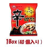 【韓国食品-ラーメン】 韓国のラーメン ★辛(シン)ラーメン 1Box(40個入り)★