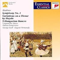 Brahms: Symphony No.1, Haydn Variations, Hungarian Dances