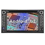 ソレントR GPS、Yinuo in Dash Android 7.1ダブルDIN 6.2インチ静電容量方式タッチスクリーンカーステレオDVDプレーヤーナビゲーションwith Bluetooth for Sorento、8gbマップカード