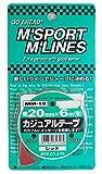 MYS カジュアルテープ レッド(20mm×6m) MM-18