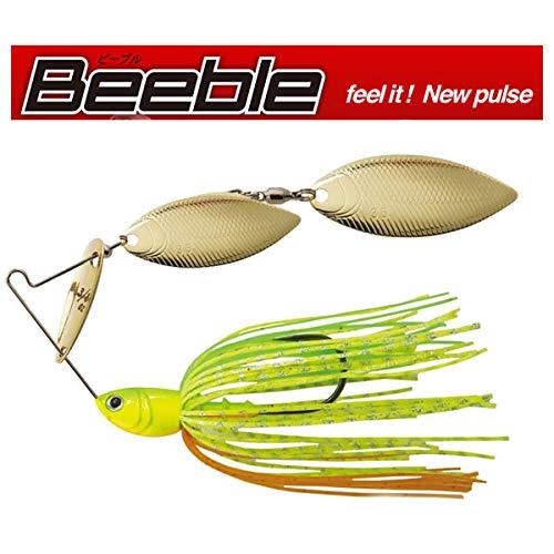 Beeble ビーブル 3/8oz スピナーベイト (S405 ライムチャート, 3/8oz DW)