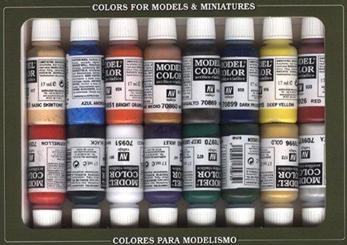 ファレホ ナポレオン 塗料セット #10ml、17ml