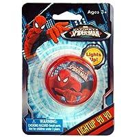 WeGlow International Ultimate Spiderman Light Up Yo-Yo (3 Yo-Yos)