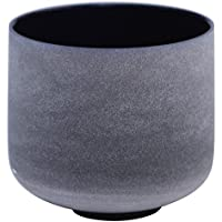 Indigo Colored Frosted A Third Eye Chakra Quartz Crystal Singing Bowl 10