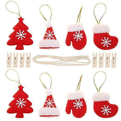クリスマス オーナメント クリスマスツリー飾り ガーランド 可愛い サンタクロース 雪だるま トナカイ ぬいぐるみ 吊り下げ 飾りつけ セット インテリア 壁掛け クリスマス プレゼント 用品 おもちゃ パーテイー 部屋飾り デコレーション Prosperveil