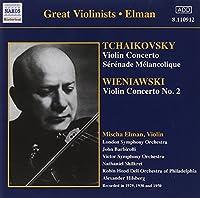 Tchaikovsky/Wieniawski:Vln.Con