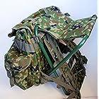自衛隊 迷彩 椅子付き リュックサック 陸自 陸上自衛隊 自衛隊装備 サバゲー 登山 サバイバルゲーム
