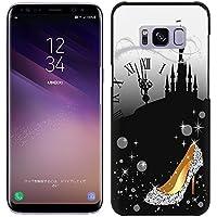 [Breeze-正規品] iPhone ・ スマホケース ポリカーボネイト [BLACK] Samsung Galaxy S8 ケース SC-02J/SCV36 ギャラクシーs8 カバー 液晶保護フィルム付 全機種対応 [GS8]