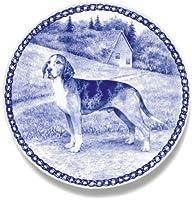 デンマーク製 ドッグ・プレート (犬の絵皿) 直輸入! Dunker (Norwegian Hound) / ドゥンカー