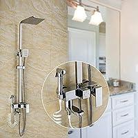 頭の4つのシャワー、シャワー、食器洗い機、シャワーシャワーヘッド