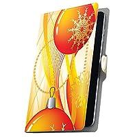 タブレット 手帳型 タブレットケース タブレットカバー カバー レザー ケース 手帳タイプ フリップ ダイアリー 二つ折り 革 雪 結晶 オレンジ 005033 Xperia Z4 Tablet SO-05G docomo SONY ソニー Xperia Tablet エクスペリアタブレット SO-05G so05g-005033-tb