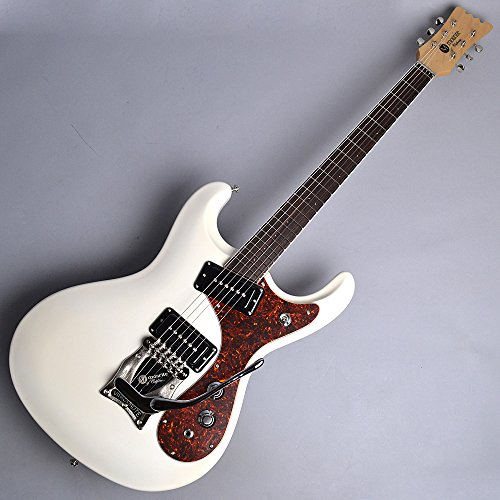 mosrite Super Excellent' 65 Pearl White エレキギター (モズライト) 新品特価 ハードケース付き