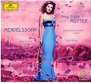 メンデルスゾーン:ヴァイオリン協奏曲(DVD付)