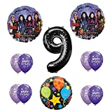 Disney The Descendants 9th Happy BirthdayパーティーSuppliesバルーンデコレーションキット