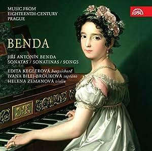 Benda: Sonatas/Sonatinas/Songs