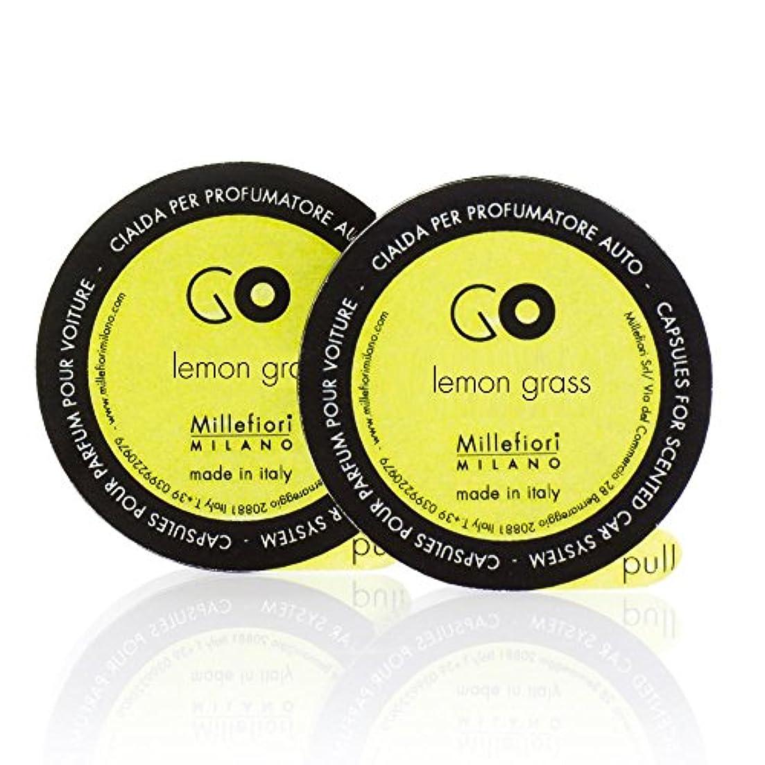 大型トラック叫び声インスタントミッレフィオーリ ( Millefiori ) 「GO」専用 レフィル / lemon grass レモングラス
