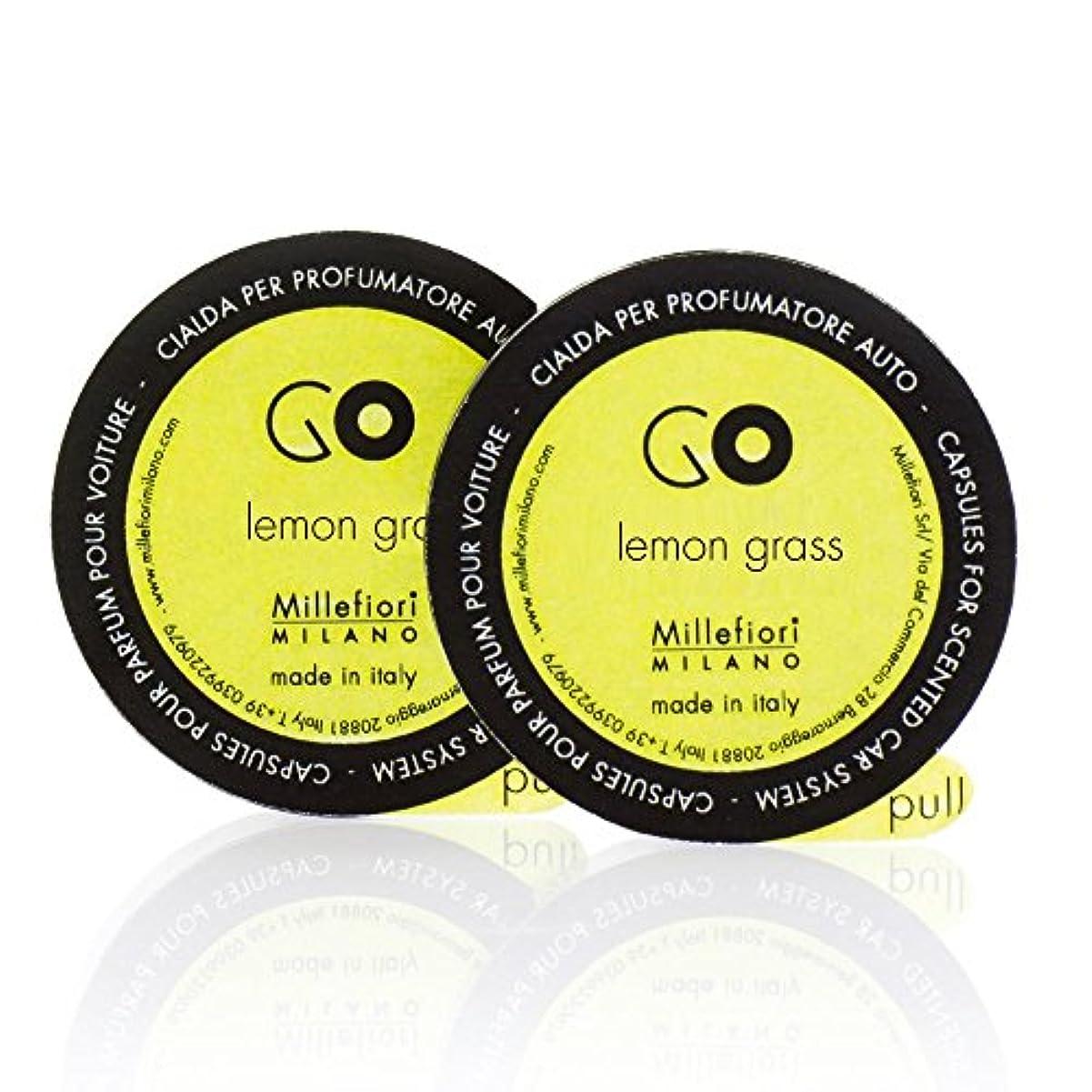自己空虚ターゲットミッレフィオーリ ( Millefiori ) 「GO」専用 レフィル / lemon grass レモングラス