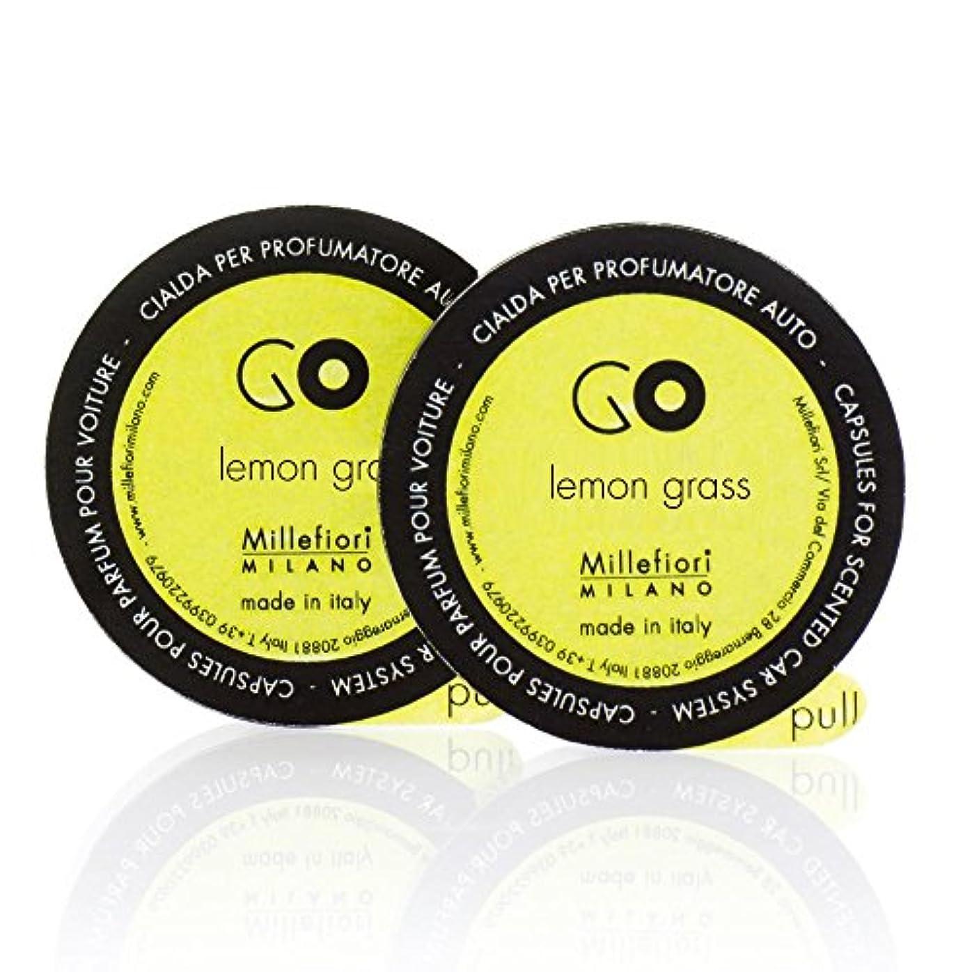 政治家の補足インテリアミッレフィオーリ ( Millefiori ) 「GO」専用 レフィル / lemon grass レモングラス