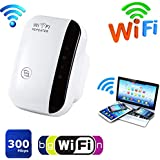 Goalftek WiFi Range Extender, Wireless WiFi Repeater, Wi-Fi Extender, Super Booster,Wi-Fi Booster, Broadband,300Mbps Superboost Boost Speed Wireless WiFi Repeater