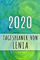 2020 Tagesplaner von Lenia: Personalisierter Kalender fuer 2020 mit deinem Vornamen