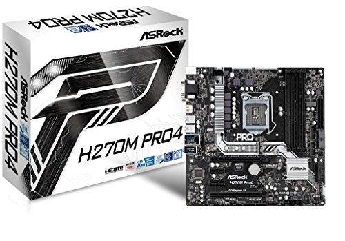 ASRock Intel H270チップセット搭載 Micro ATXマザーボード H270M Pro4