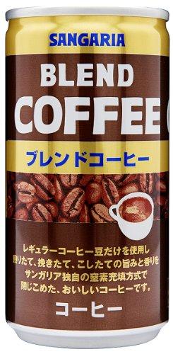 ブレンドコーヒー 185g×30本