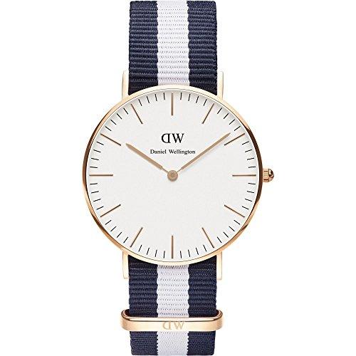 (ダニエルウェリントン) Daniel Wellington 腕時計 メンズ/レディース 0503DW ベルト36 CLASSIC クラシック GLASGOW/ROSEGOLD[並行輸入品]