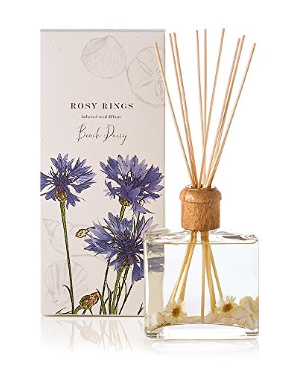 ビーム顕著お母さんロージーリングス ボタニカルリードディフューザー ビーチデイジー ROSY RINGS Signature Collection Botanical Reed Diffuser – Beach Daisy