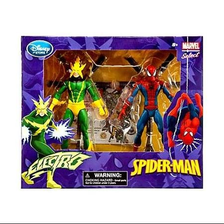 ディズニー(Disney) スパイダーマン エレクトロ マーベル Marvel アクションフィギュア 模型 おもちゃ 人形 玩具 2パック フィギュア 置物 トイ [並行輸入品]