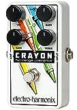 electro-harmonix エレクトロハーモニクス エフェクター オーバードライブ Crayon 02 シャーシ白 【国内正規品】