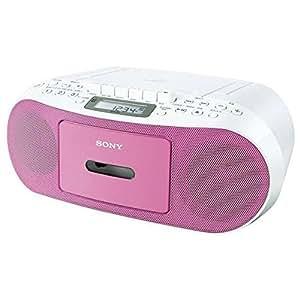 ソニー CDラジオカセットコーダー ピンク CFD-S51/P