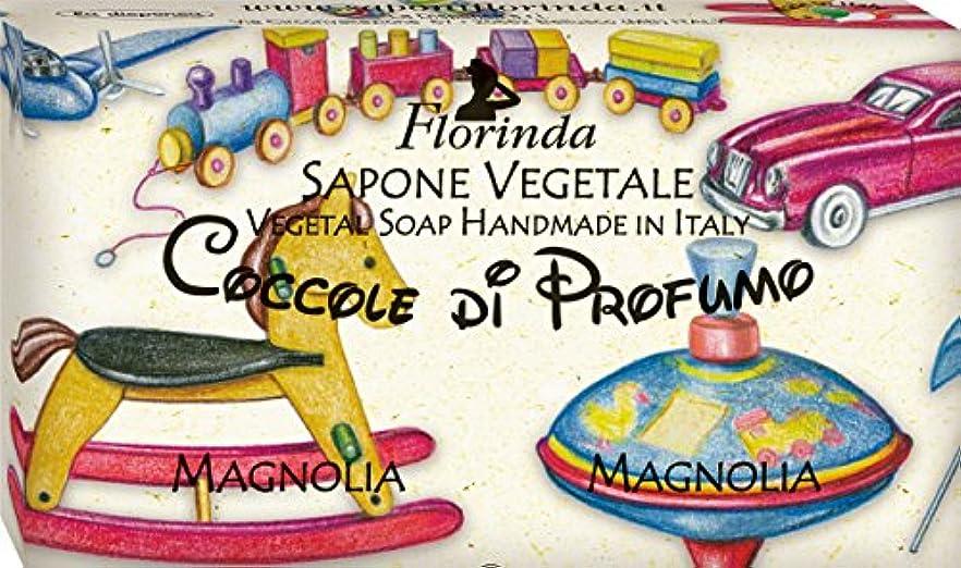 シャックル申請者ピアフロリンダ フレグランスソープ おもちゃシリーズ マグノリア
