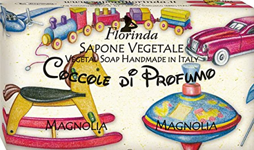 印象的物足りない懐疑論フロリンダ フレグランスソープ おもちゃシリーズ マグノリア