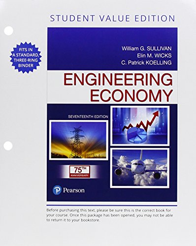 Download Engineering Economy, Student Value Edition (17th Edition) 0134838130