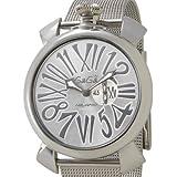 [ガガ ミラノ] GAGA MILANO 腕時計 MANUALE SLIM 46MM ACCIAIO Ref.5080.3 シルバー [並行輸入品]