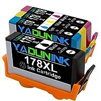 HP 互換 インクカートリッジ HP 178XL 4色マルチパック ブラック/シアン/マゼンタ/イエロー CN684HJ CB323HJ CB324HJ CB325HJ リサイクル インク HP 178 増量 BK/C/M/Y 4色セット YADUNINK