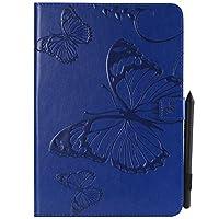 Shinyzone タブレット レザーケース Samsung Galaxy Tab A 9.7 T550用 ブルー
